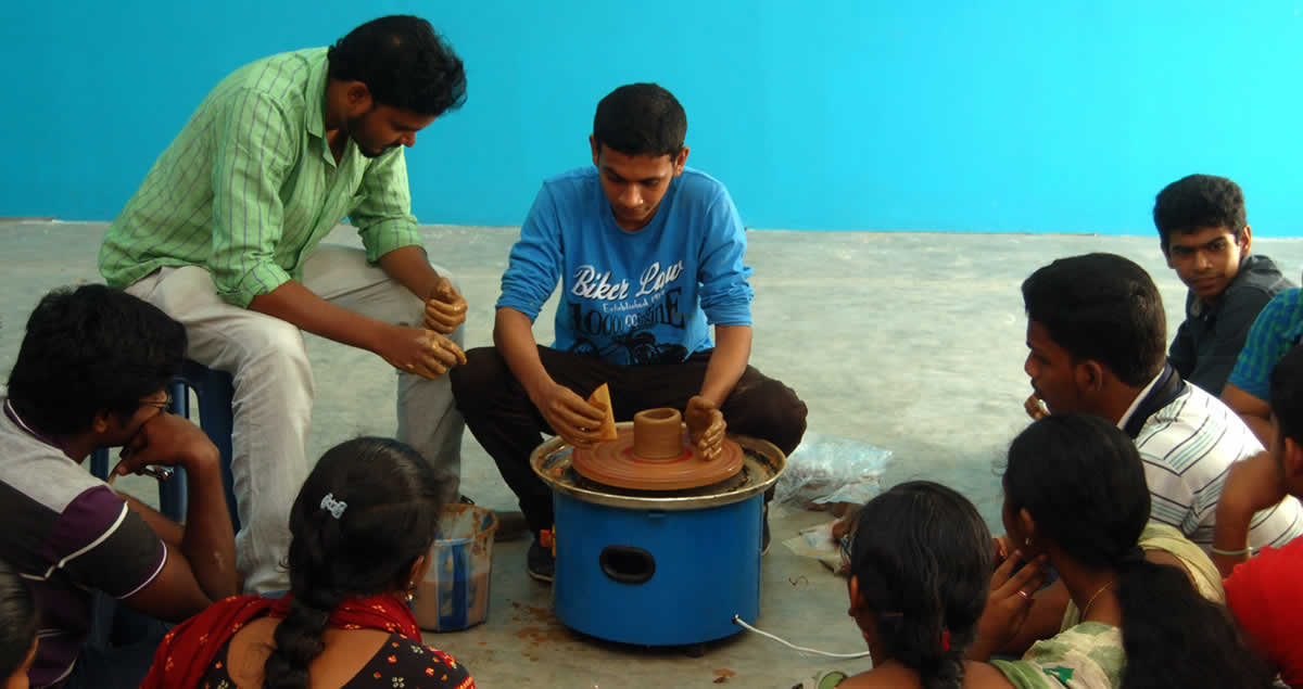 Clay Modeling Workshop Conducted At CAAD