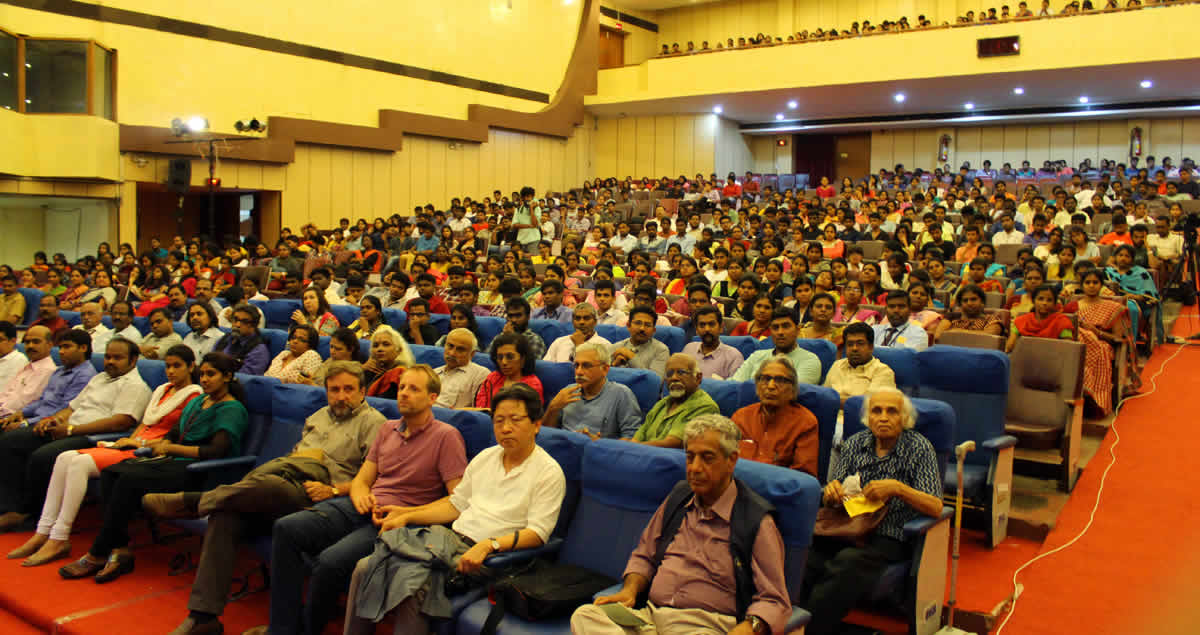 CAAD's Association For Ar. B V Doshi's Lecture Program