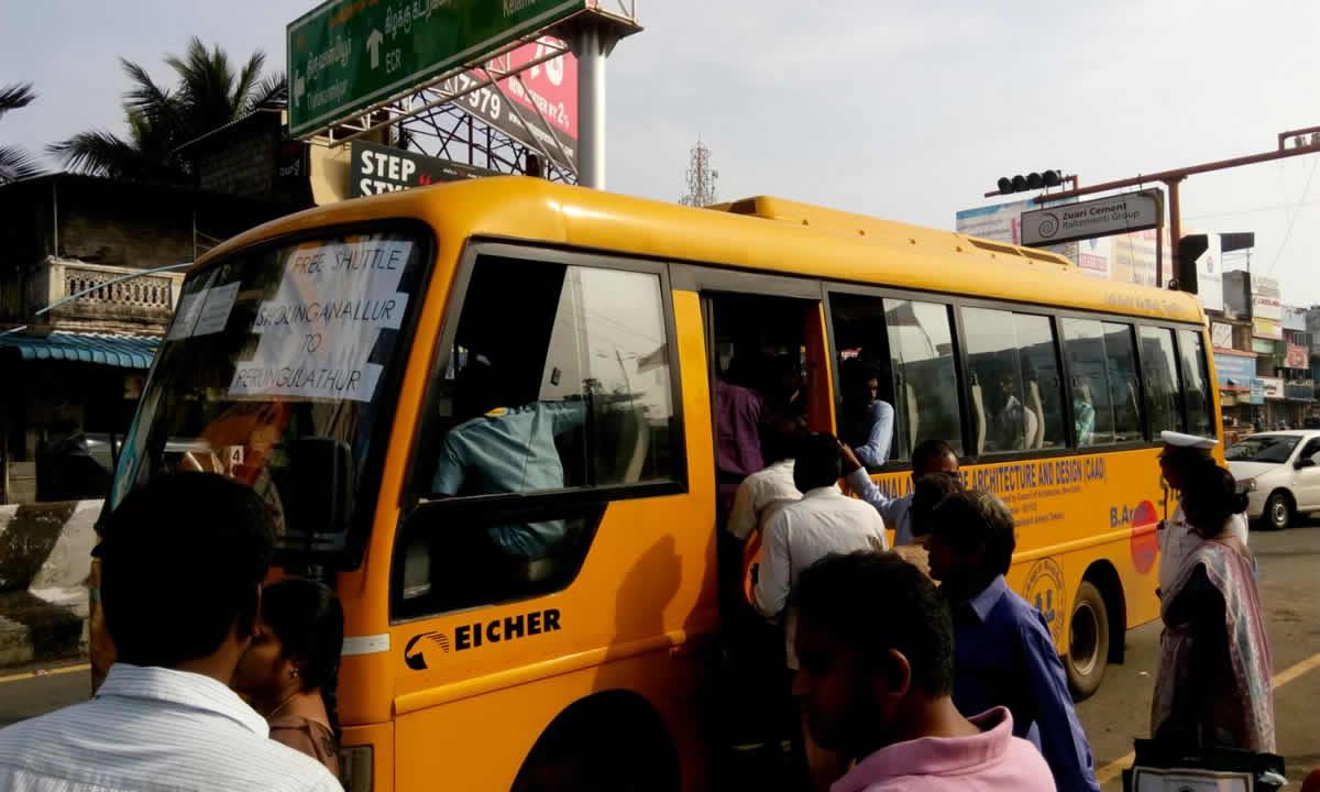 Free Bus Service 01