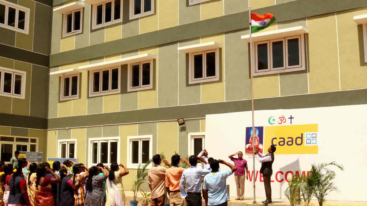 Independence Day Celebration At CAAD On 15th August 2016