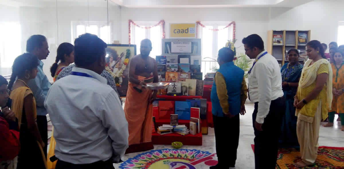 Book  Kolu At CAAD And Ayudha Puja Celebrations
