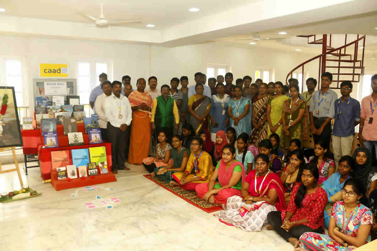 Ayudha Pooja Celebrations And Book Kolu At CAAD