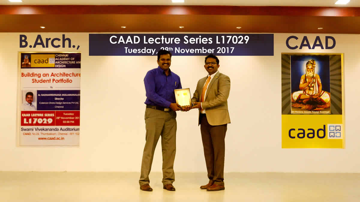 Lecture on Building an Architecture Student Portfolio -