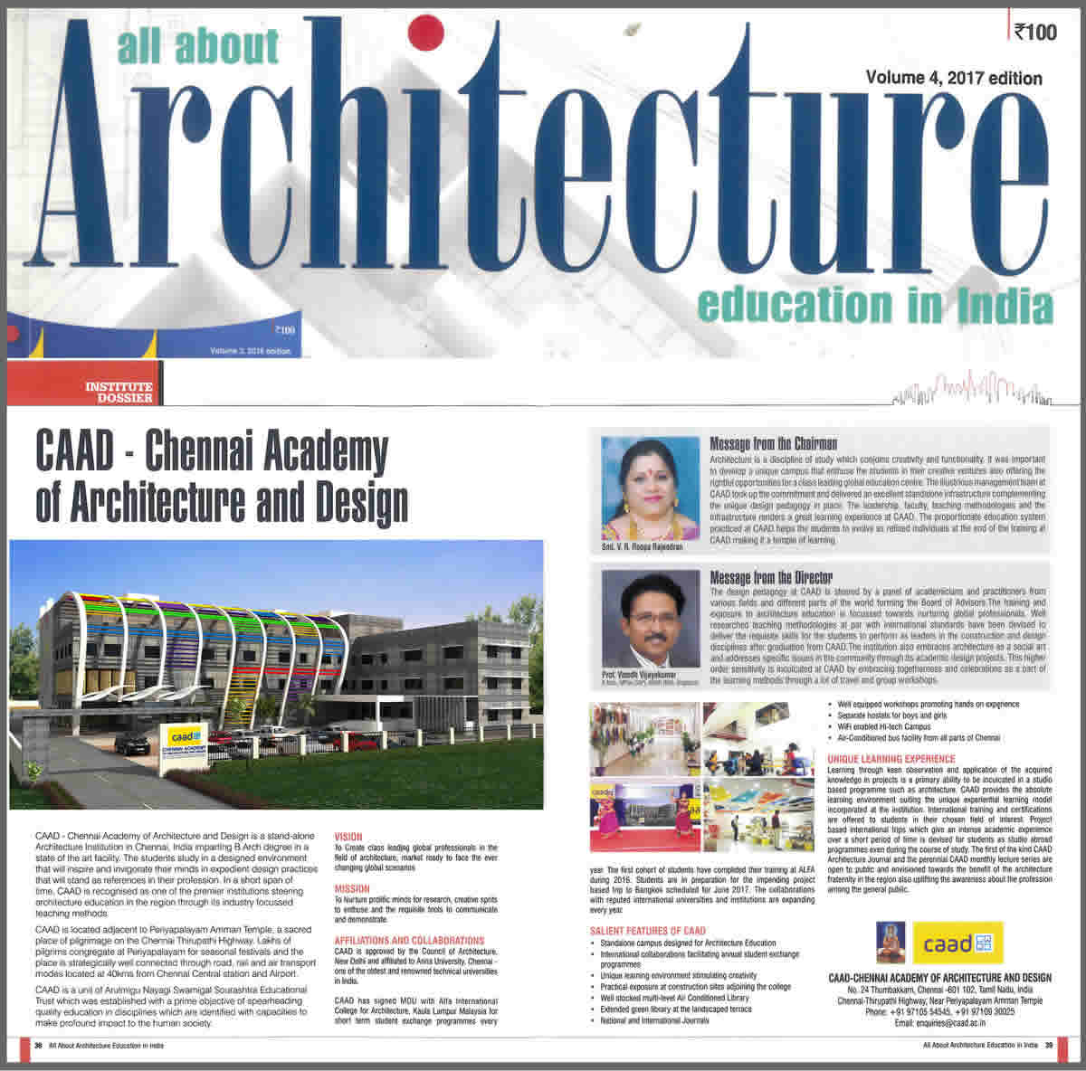 April 2017 All About Architect